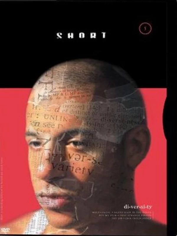 "The film poster showing Mike (Vin Diesel) with writing across his face. You can see the words ""variety"" and ""diversity"","