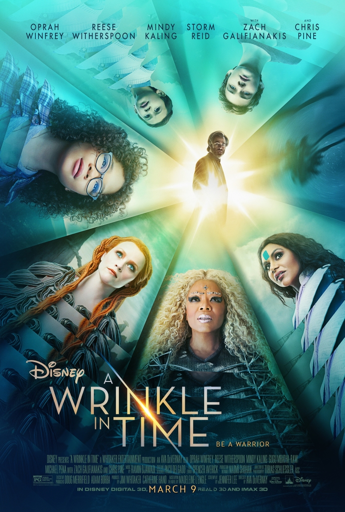 The film poster showing the main characters arranged in a circle.