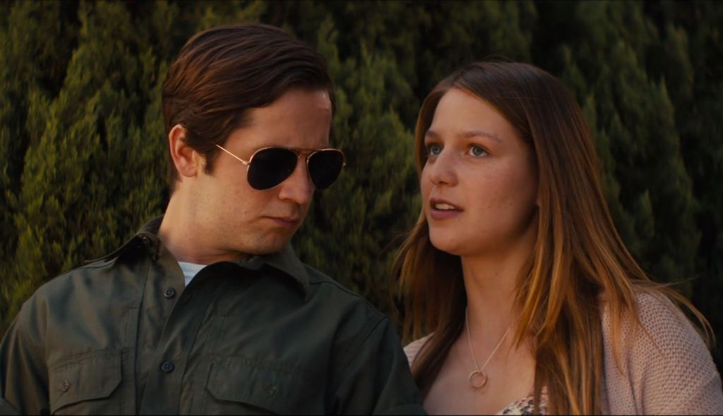 Ned (Michael Angarano) and Tally (Melissa Benoist) on their mission.