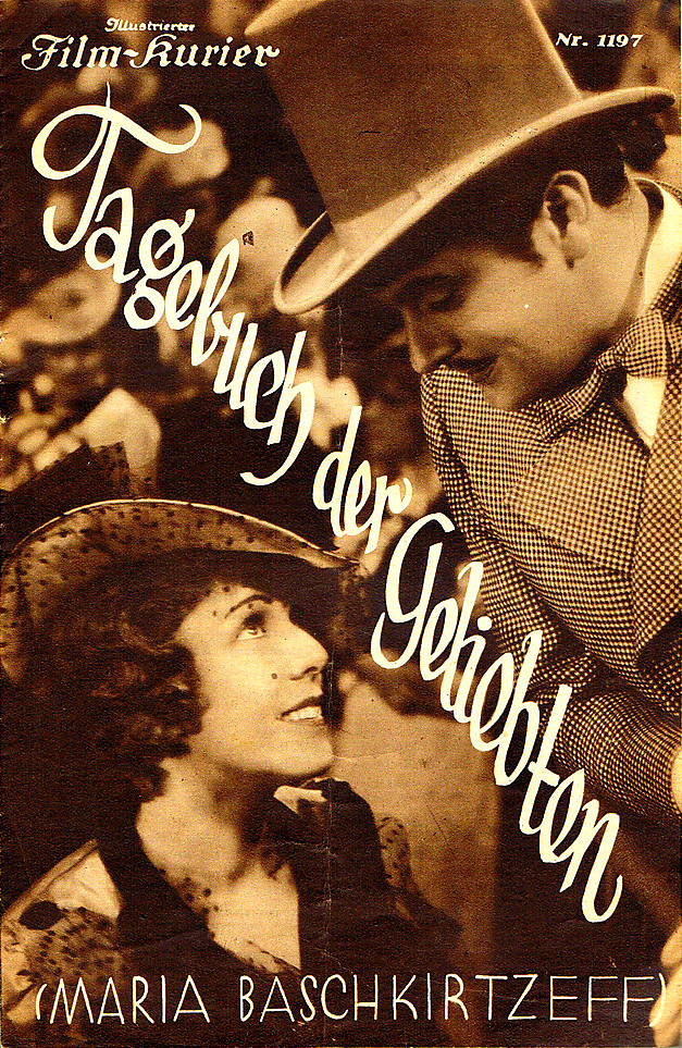 The film poster showing Marie (Lili Darvas) talking to Guy (Hans Jaray).
