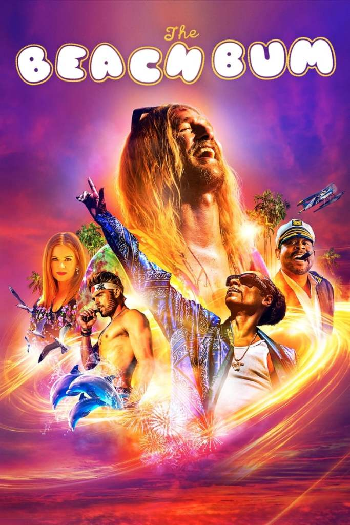 The film poster showing Moondog (Matthew McConaughey) very big, surrounded by other characters of the film, much smaller.