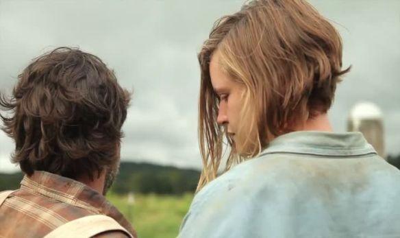Sarah (Sophie Traub) walking with Jeremiah (Robert Longstreet).