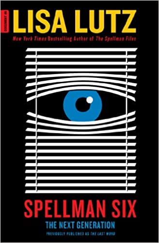 The book cover showing blinds being pulled apart in the shape of an eye, behind it a big pupil.