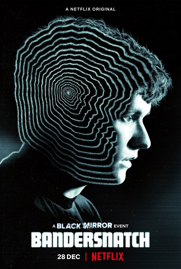 The film poster showing a profile shot of Stefan (Fionn Whitehead), white waves moving inward (or outward) over his head.