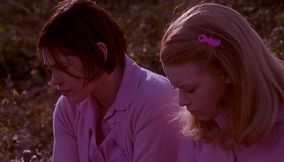 Graham (Clea DuVall) and Megan (Natasha Lyonne) sharing a quiet moment at True Direction.