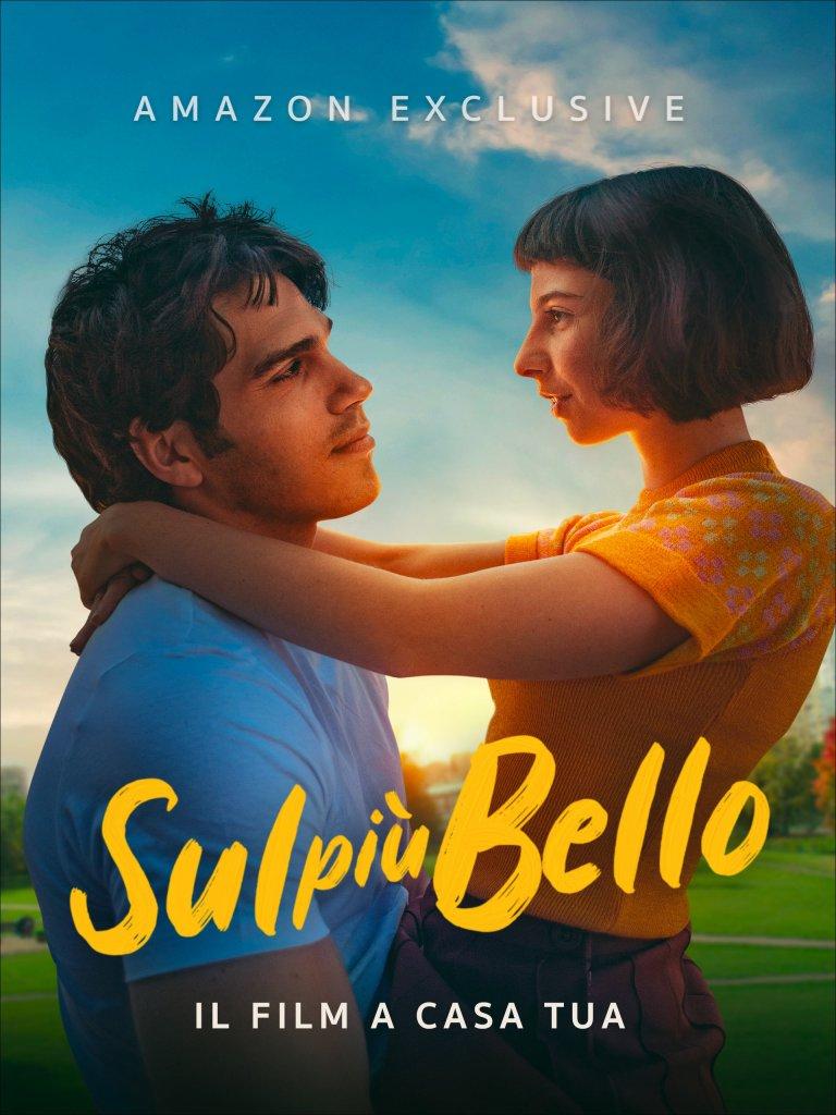 The film poster showing Arturo (Giuseppe Maggio) holding Marta (Ludovica Francesconi).