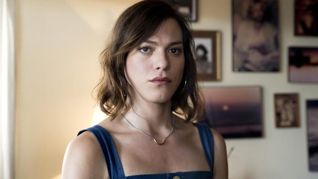 Marina (Daniela Vega) looking serious.